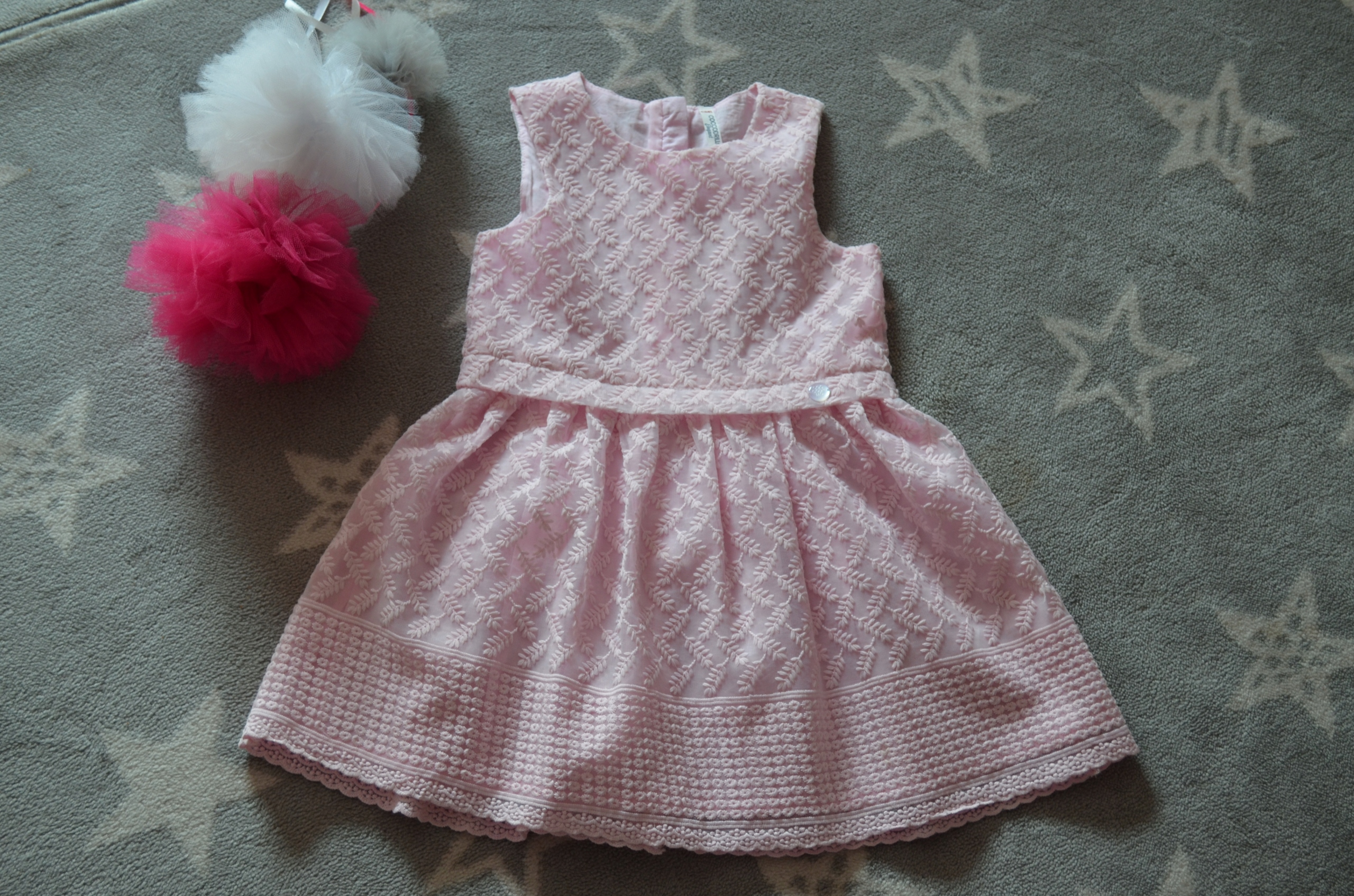 Sukienka wizytowa Coccodrillo 110 dla dziewczynki