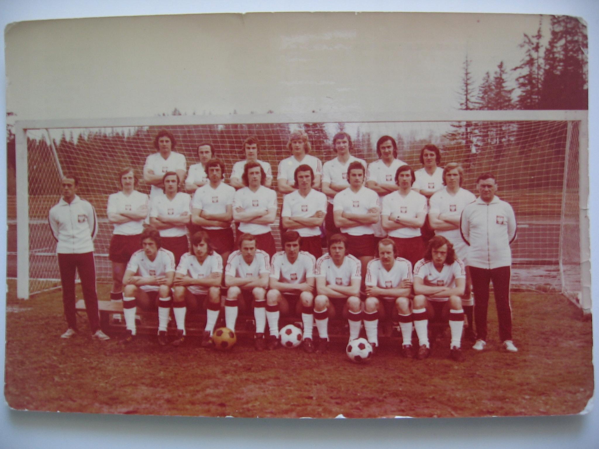 KADRA POLSKICH PIŁKARZY NA X MUNDIAL-1974