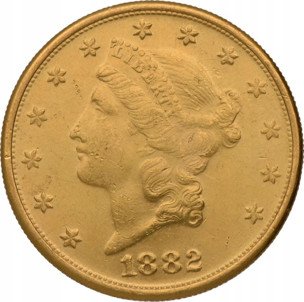 20 Dolarów 1882 - belgia (3-4)