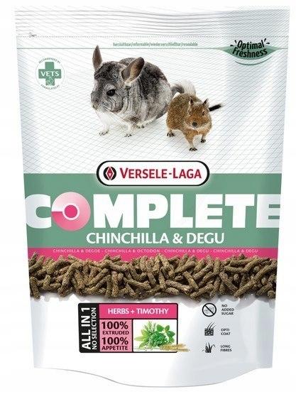 Versele-Laga Chinchilla & Degu Complete pokarm