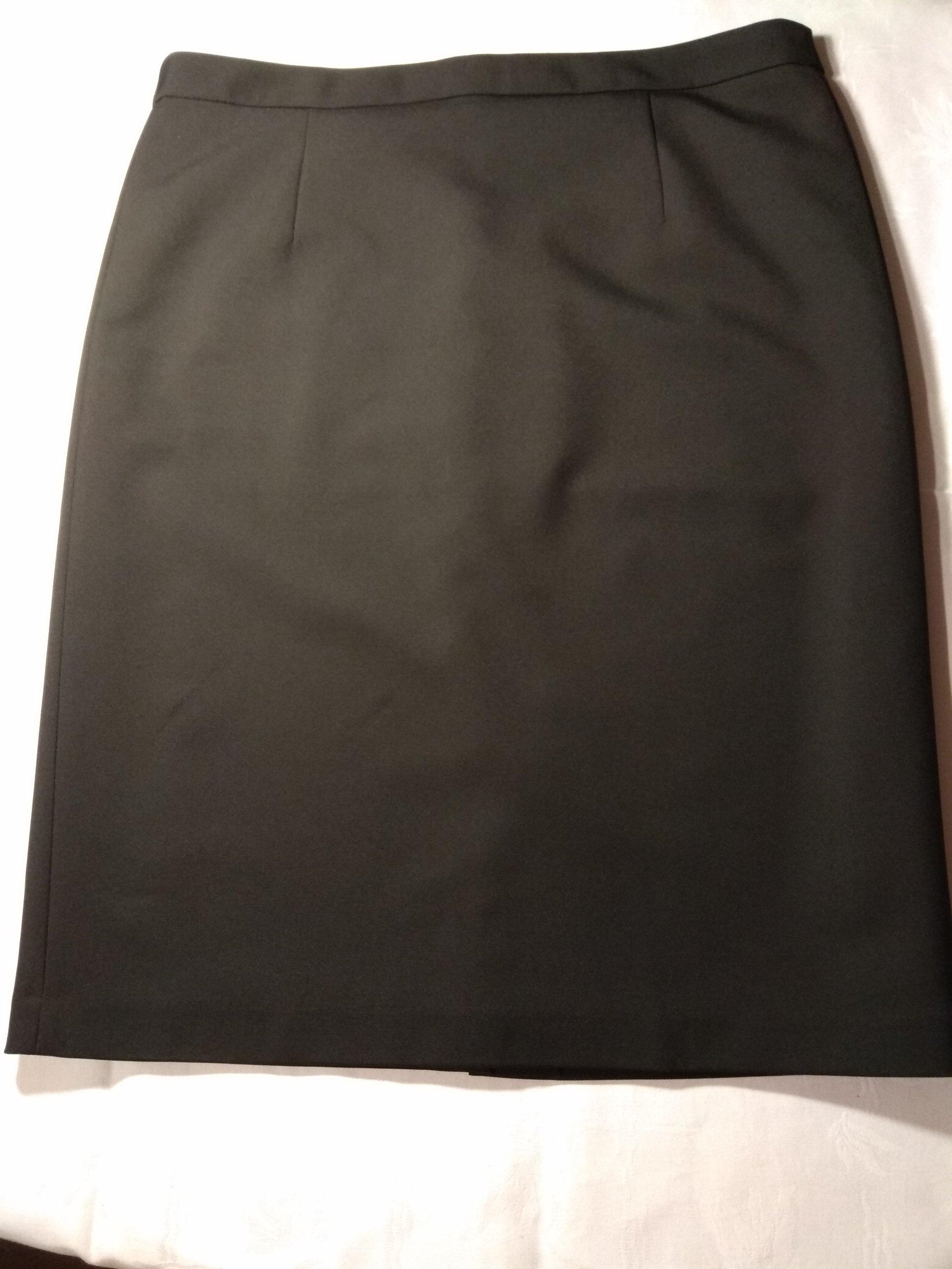 6c2d40c9 Heidi Klum, spódnica damska ołówkowa, czarna. - 7510607691 ...