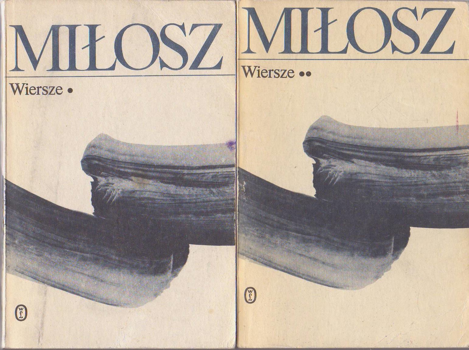 Wiersze Czesław Miłosz 2 Tomy Komplet 7416263779
