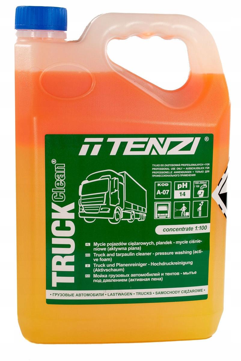 TENZI TRUCK CLEAN MOCNO ZABRUDZONE POJAZDY TIR 5L