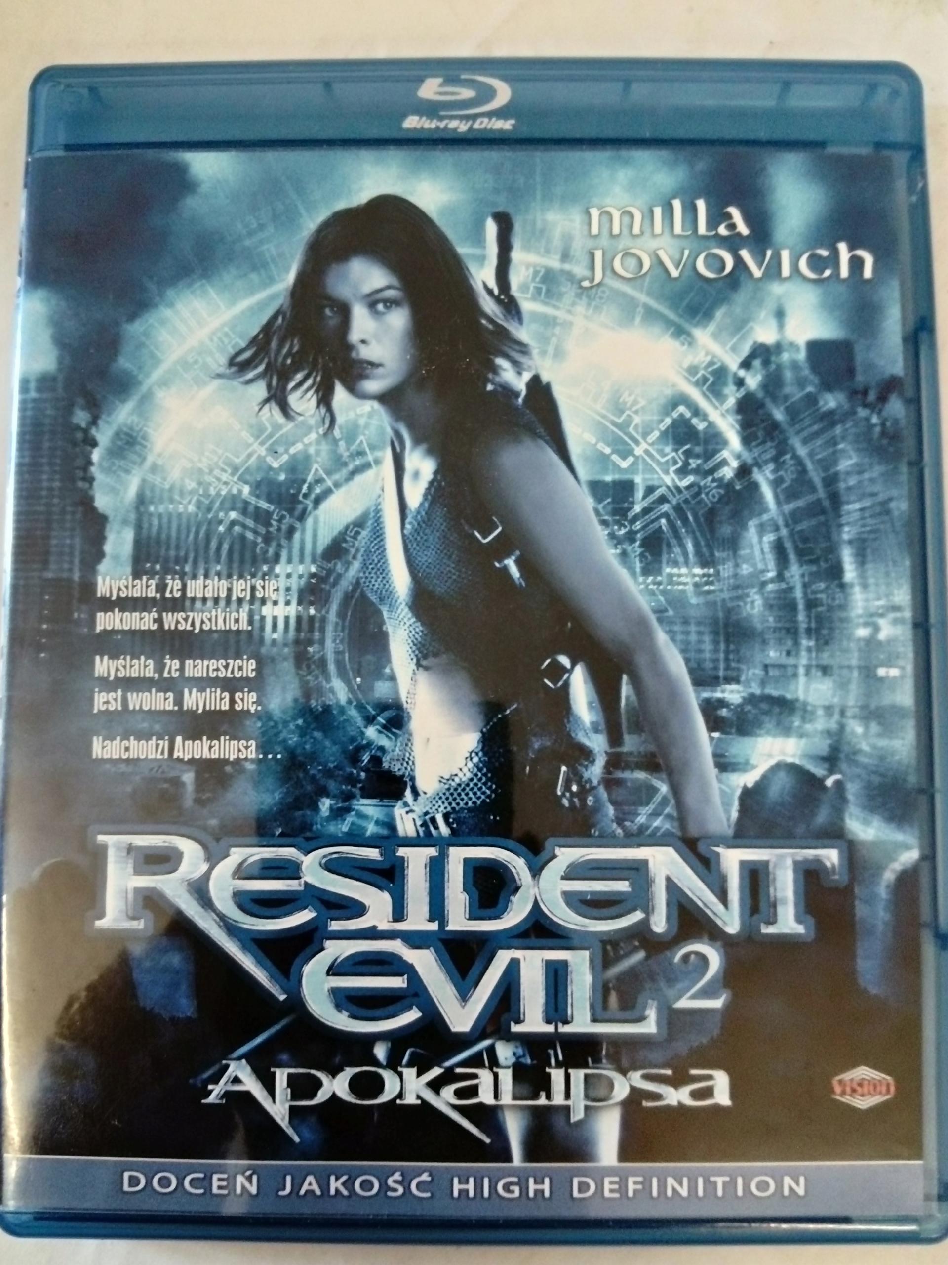 RESIDENT EVIL 2: APOKALIPSA (BLU-RAY)
