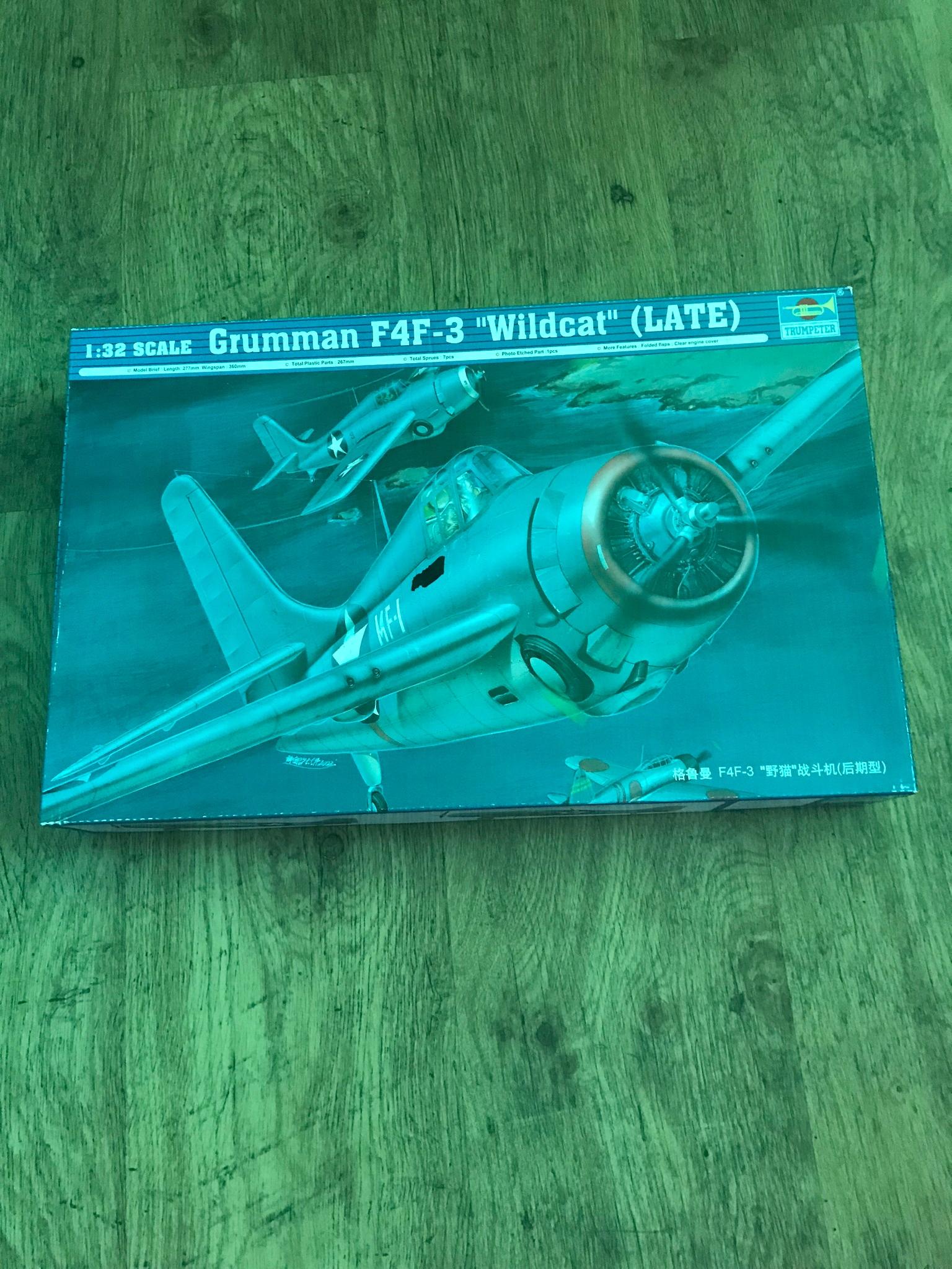 F4F Wildcat 1:32 Trumpeter +maski