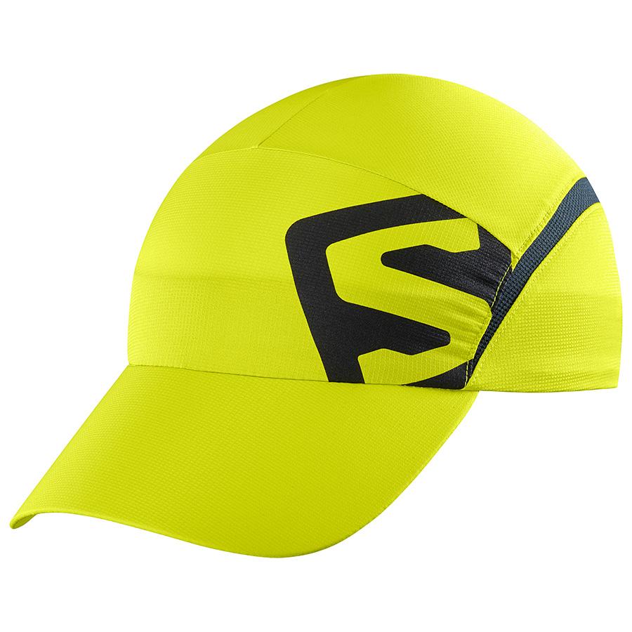 Czapka Salomon XA CAP Sulphur Spring/Black M/L