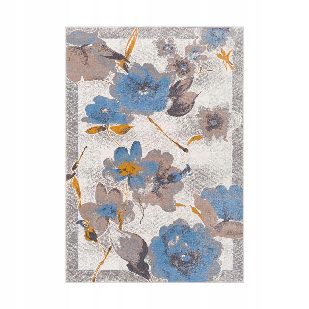 Ozdobny Dywan Do Salonu W Kwiaty Huntes 160x230 7544133000