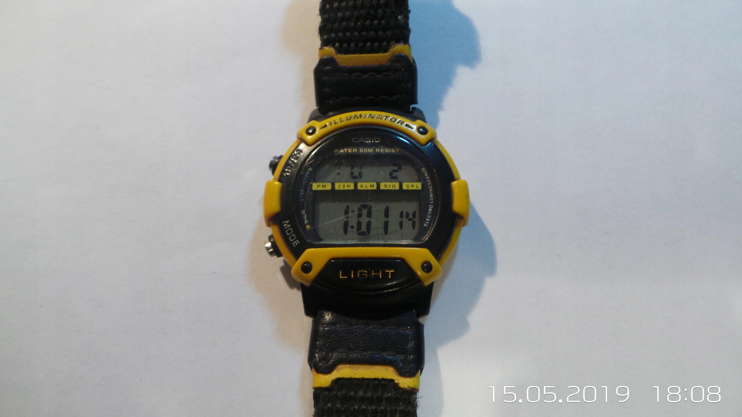 zegarek CASIO W-92H
