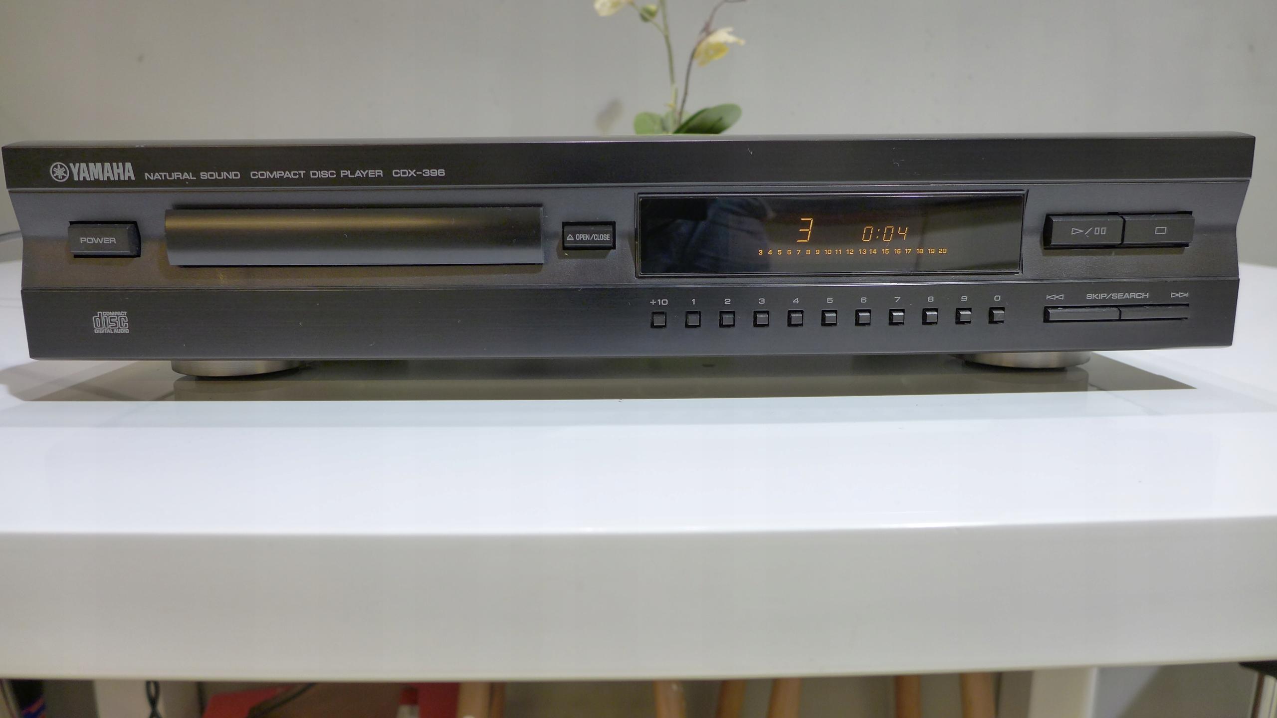 Odtwarzacz Cd Yamaha CDX-396