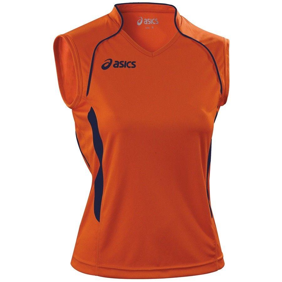 Koszulka Asics Aruba pomarańczowy l