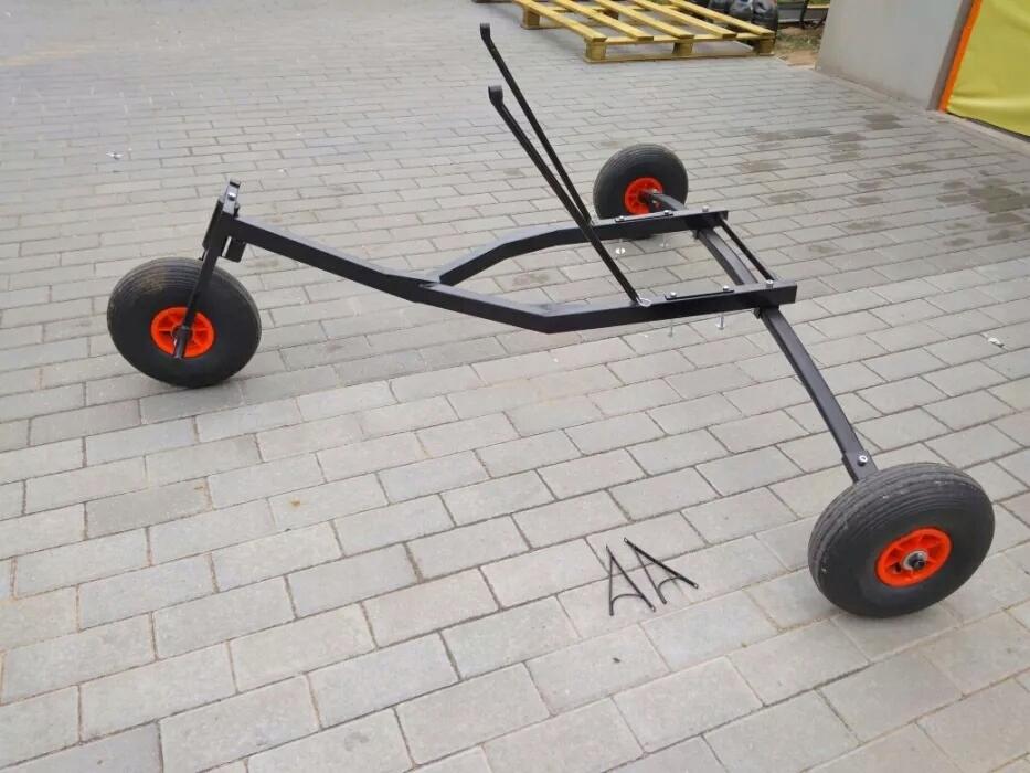 Wózek do napędu PPG, trajka PPGG, 11 kg, resor
