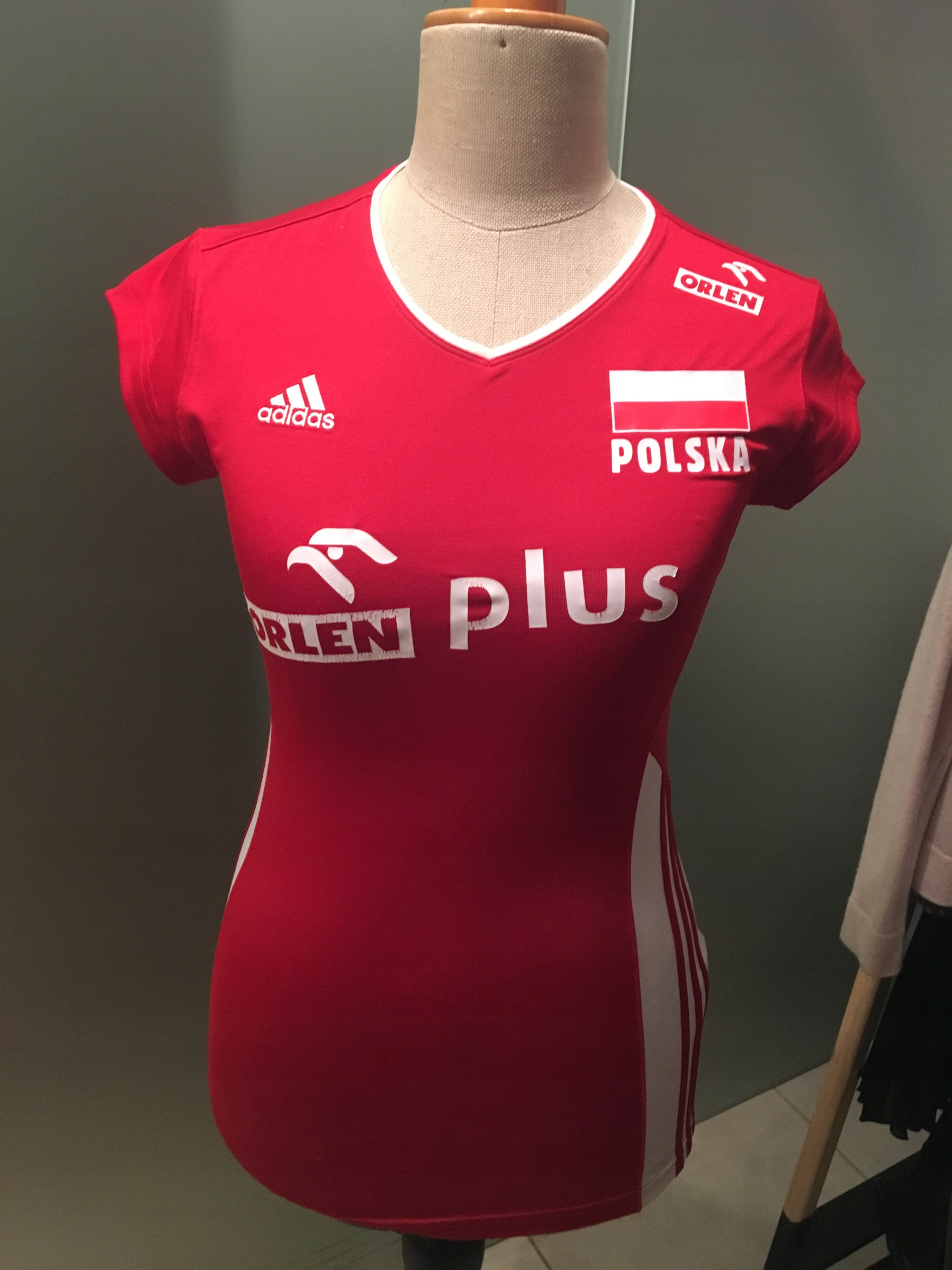 koszulka damska adidas s czerwona