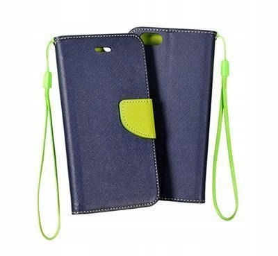 ETUI FANCY BOOK NOKIA 5.1 GRANAT LIMONKA