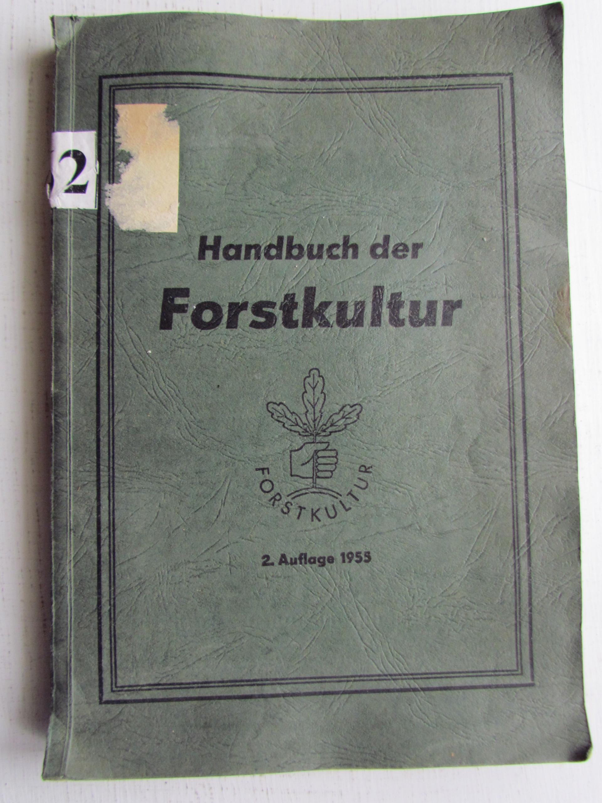 Podręcznik kultury leśnej __ j. niemieckim
