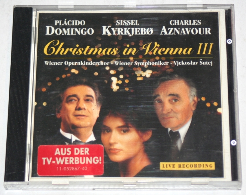 Placido Domingo, Sissel Kyrkjebo, Charles Aznavour