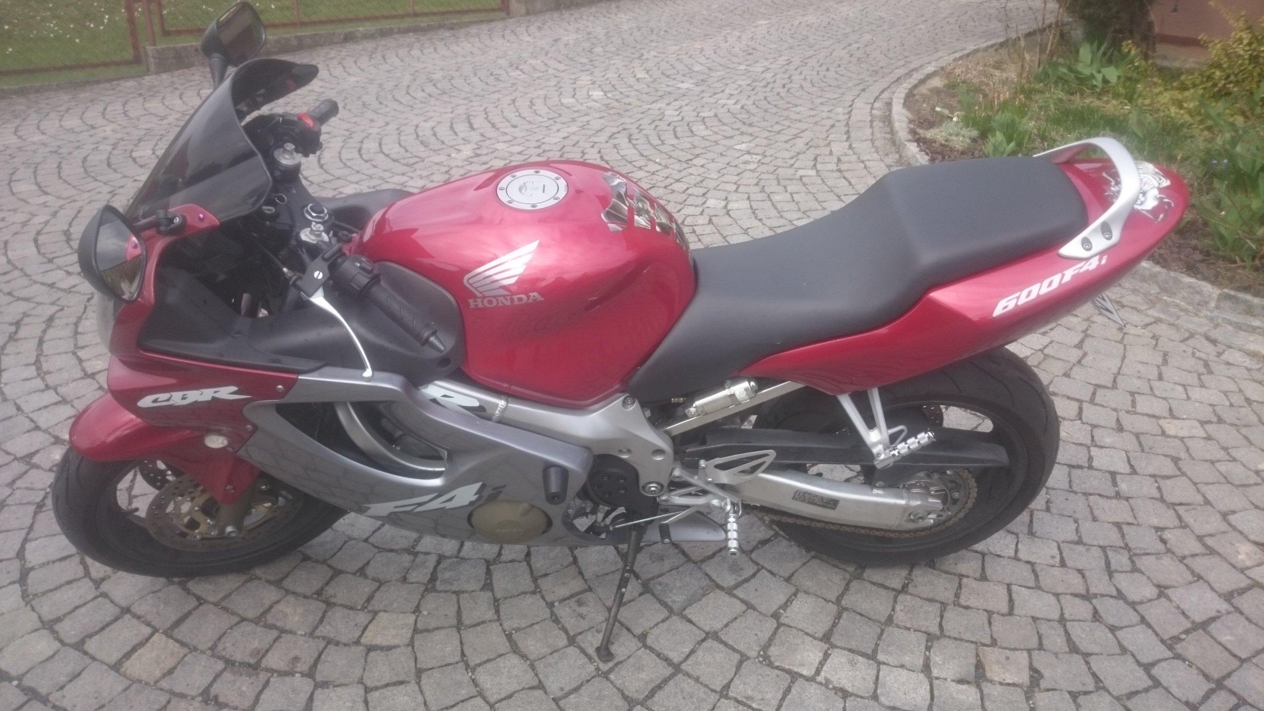Honda Cbr 600 F4i Xenon Led 2005 109 Km Stan Bdb 7458085126