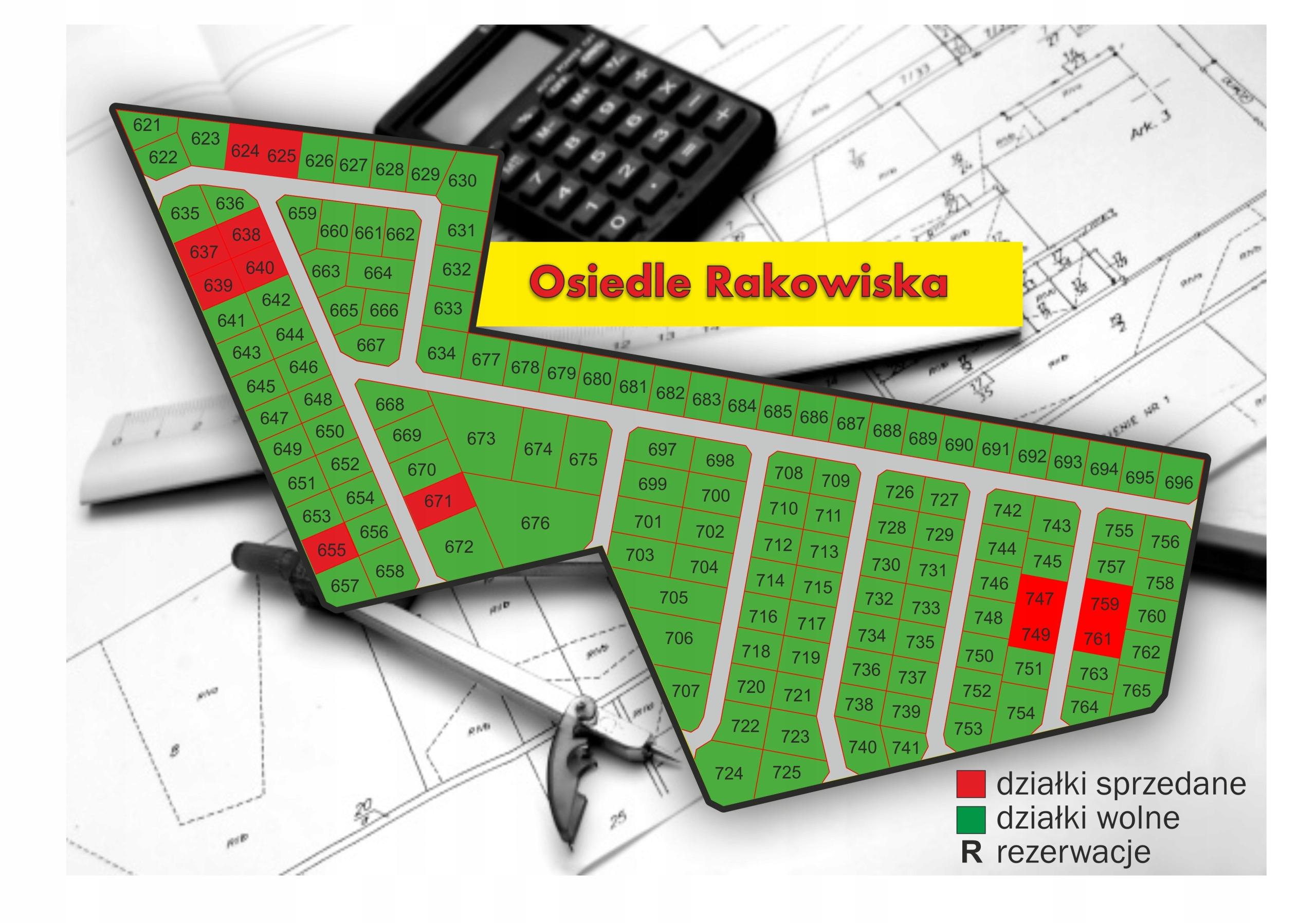 Działki budowlane Osiedle Rakowiska k. Białaj Podl