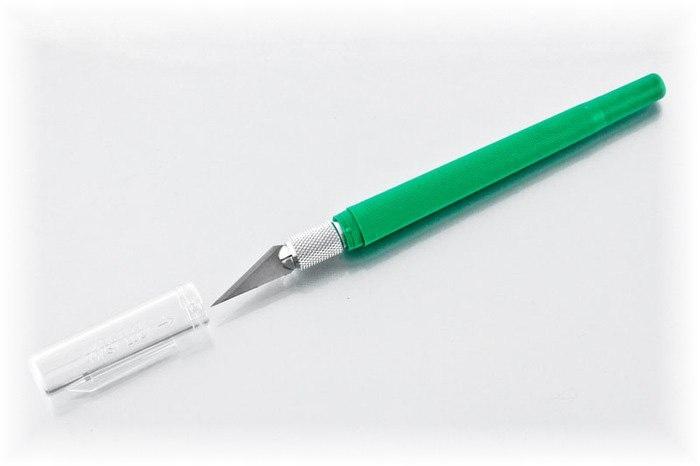 Proedge - Nóż #40 zielony [#17044]