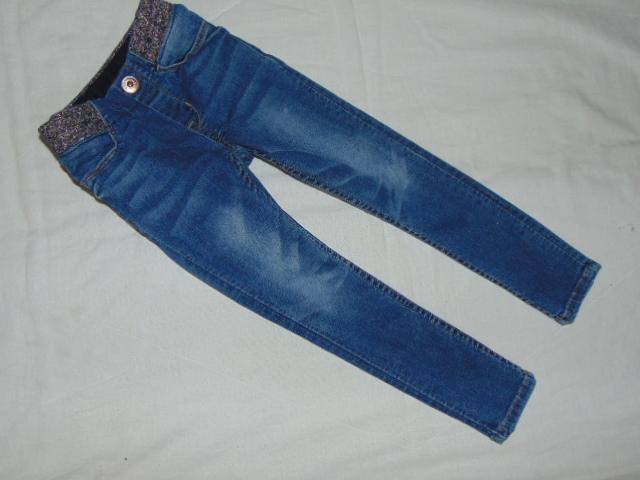 H&M Świetne rurki dla dziewczynki roz 104cm