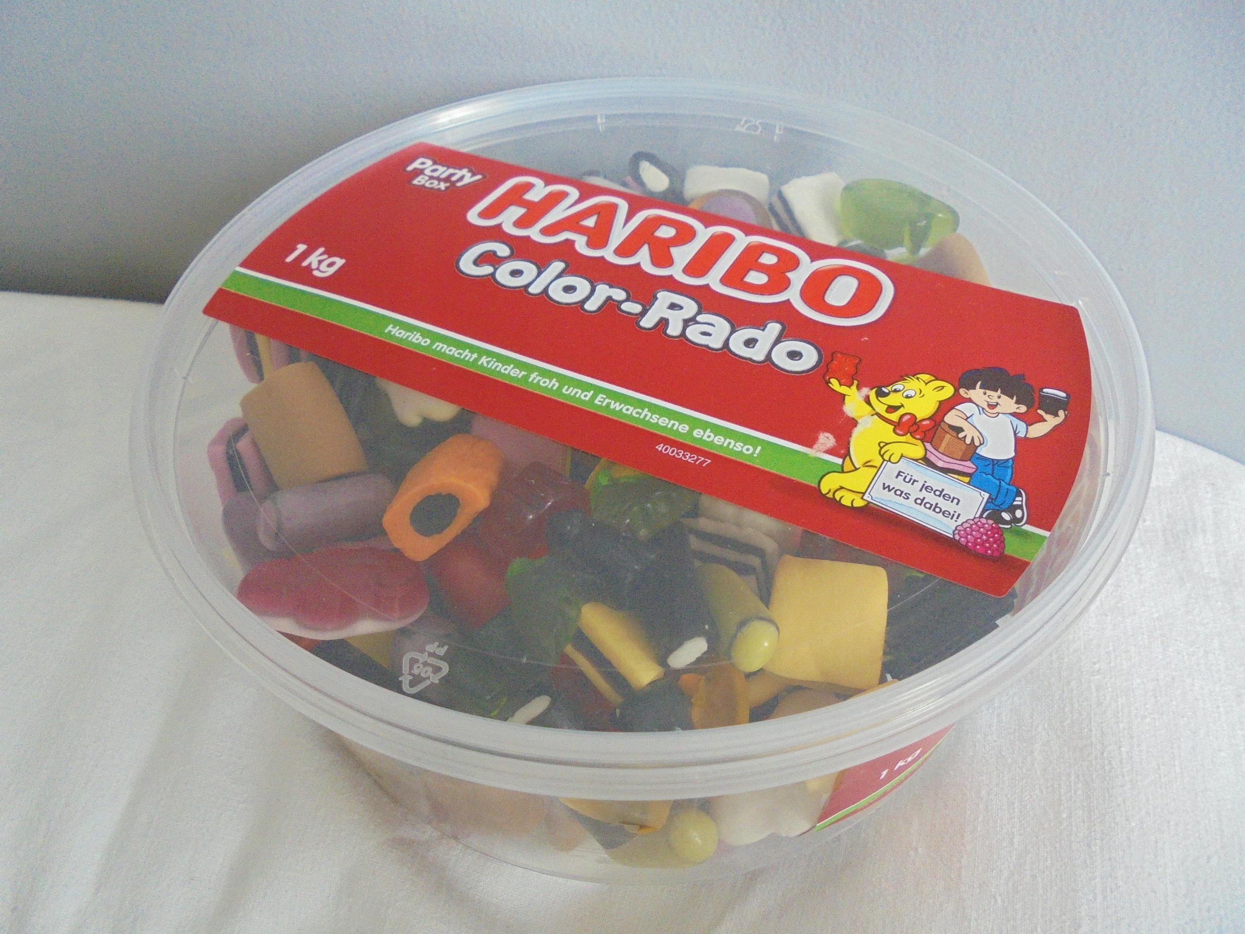 -=- HARIBO COLOR-RADO- PUSZKA 1 kg - Z NIEMIEC -=-