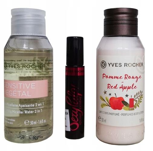 Yves Rocher Zestaw Mini kosmetyków + 4xGRATIS !!!