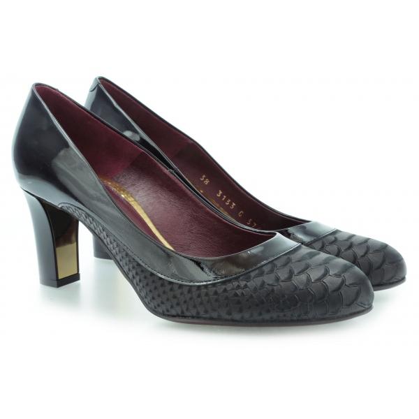 0e75e44a28acb 60% eleganckie wężowe CZÓŁENKA buty GINO ROSSI 36 - 7545899038 ...