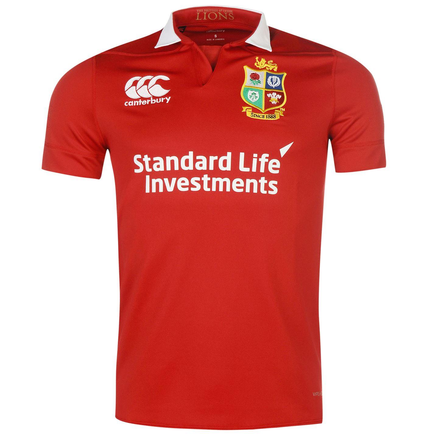 W8417 Canterbury British Irish Lions Jersey M