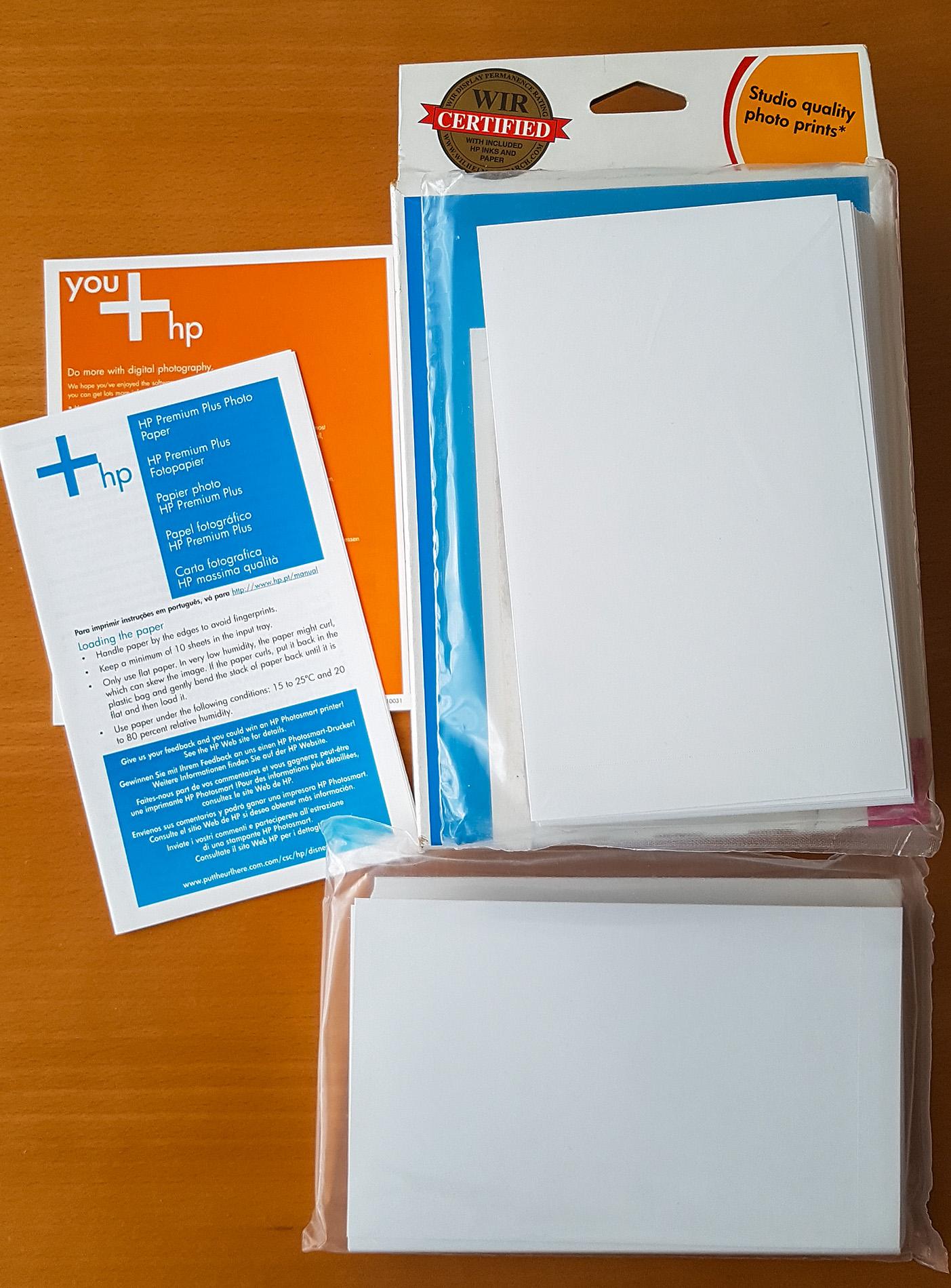 Papier fotograficzny HP Premium Plus 10x15, 50 szt
