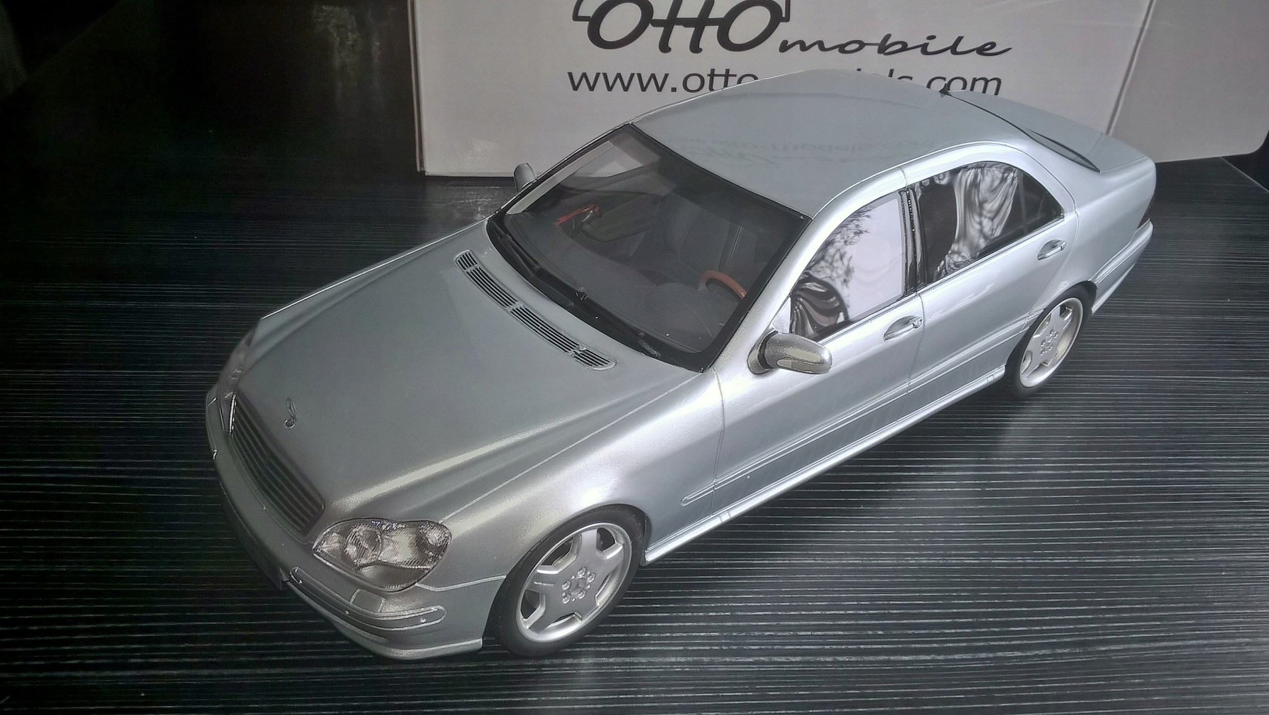 Mercedes S55 AMG W220 - 1/18 - OTTO limit 2000szt.