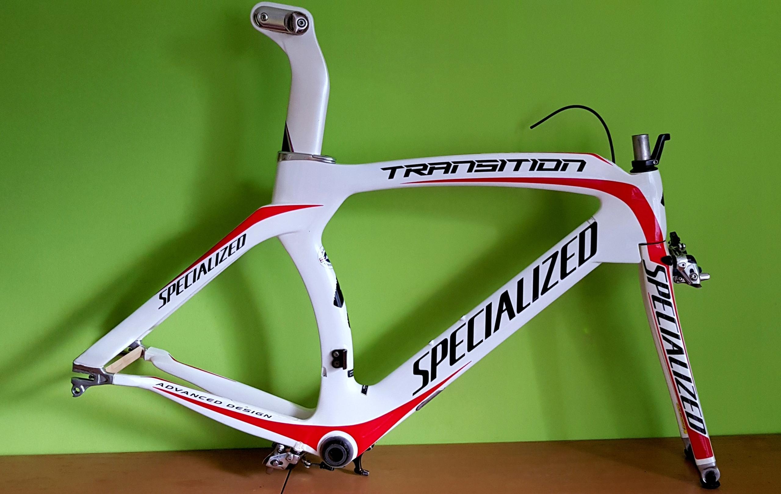 Specialized Transition Expert Triathlon TT rama