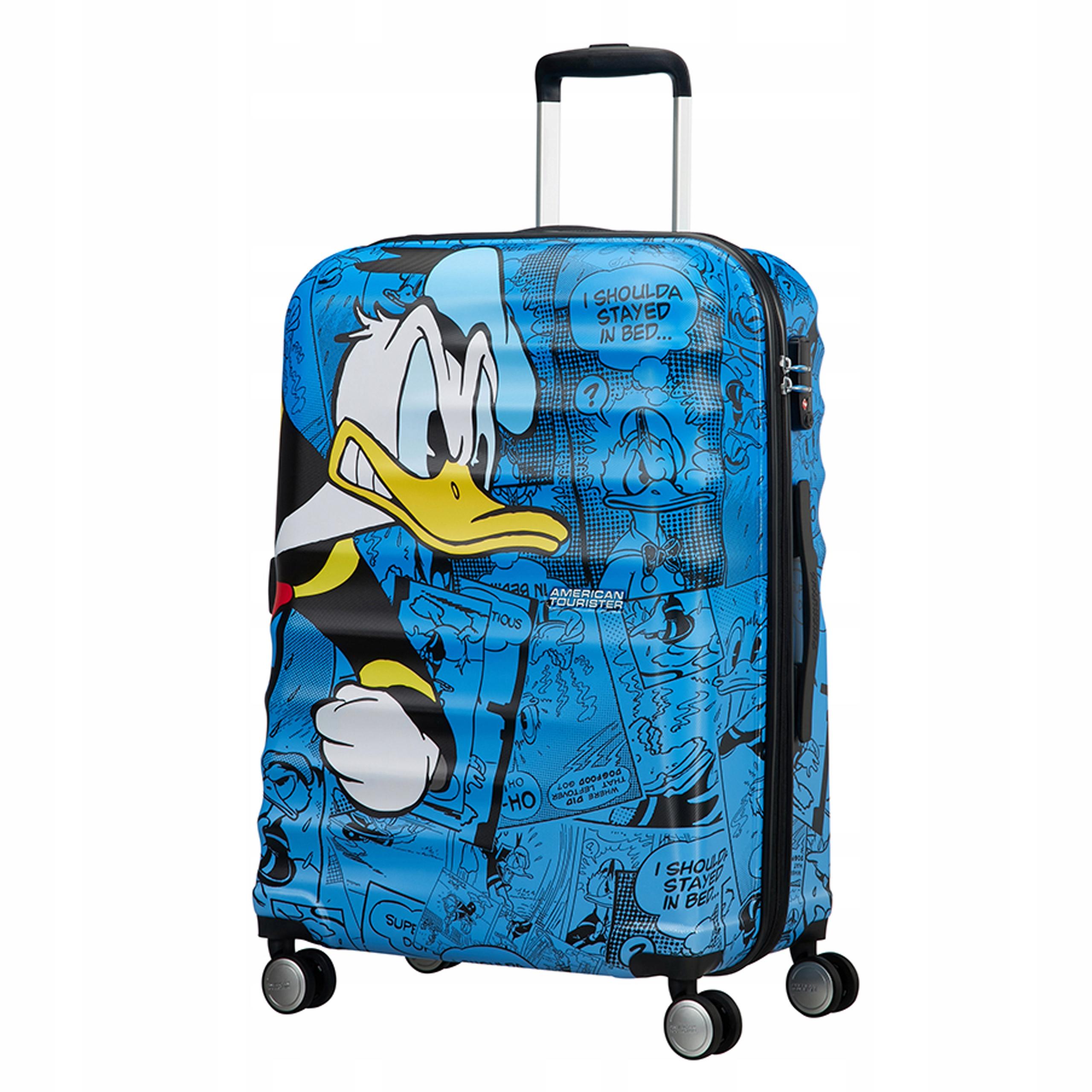 2580e0e277eb8 Walizka AMERICAN TOURISTER Disney Donald 31C01004 - 7714735171 ...