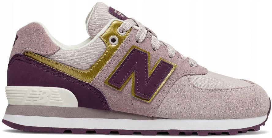 New Balance Buty dziecięce GC574MLG 38