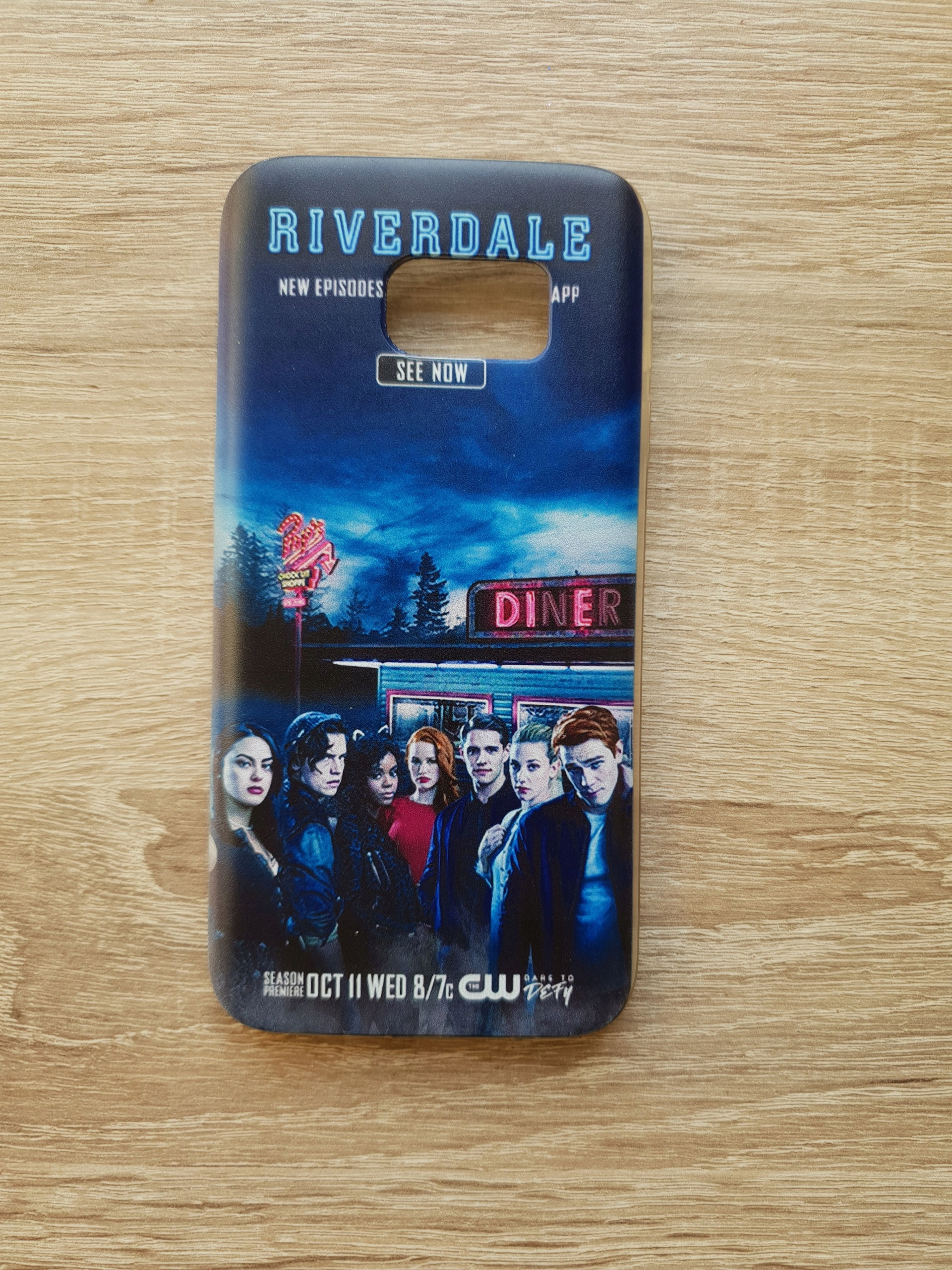 Etui silikonowe Samsung S7 - Riverdale