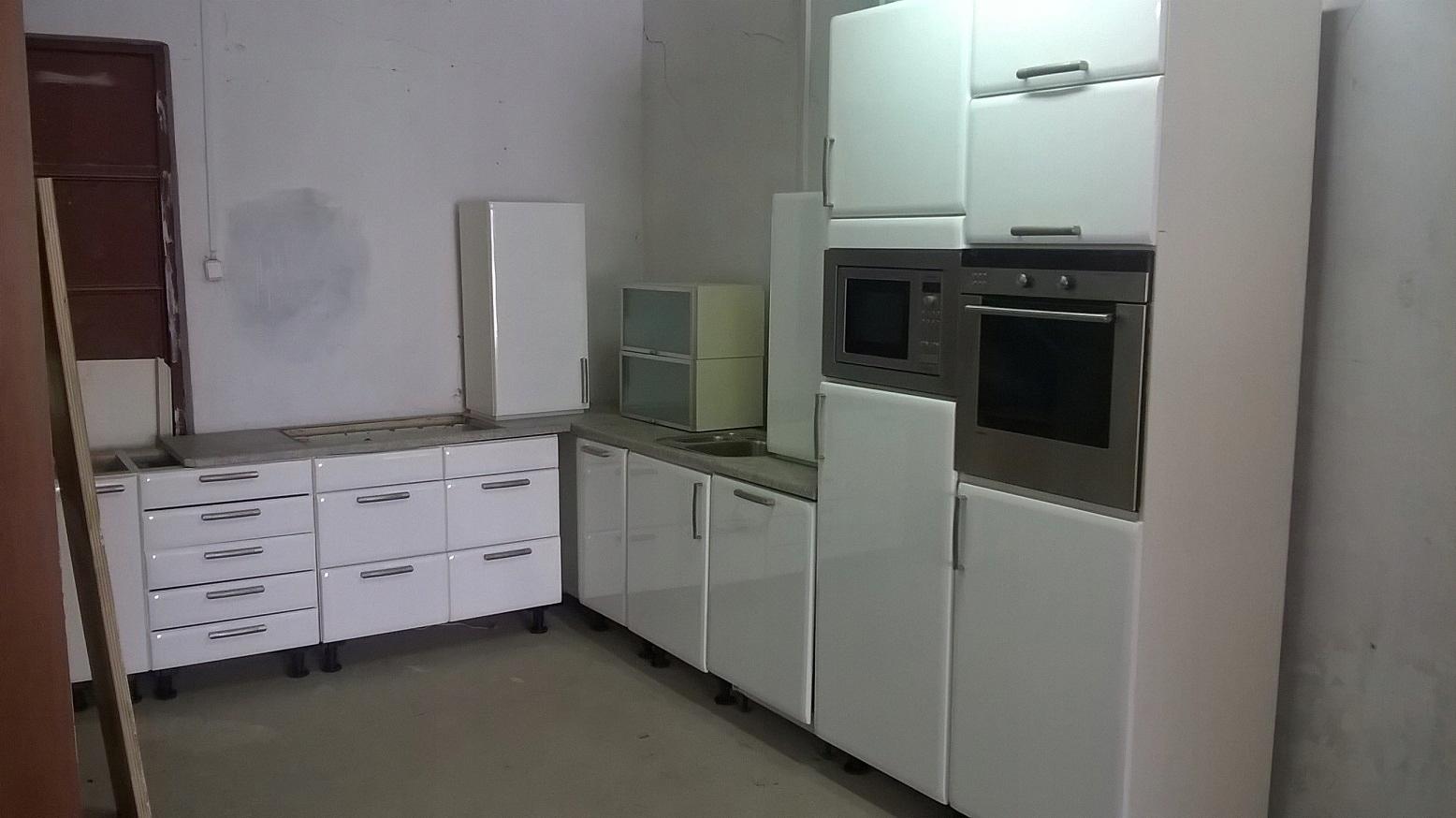 Biała Narożna Kuchnia Wysoki Połysk Agd 7810644812
