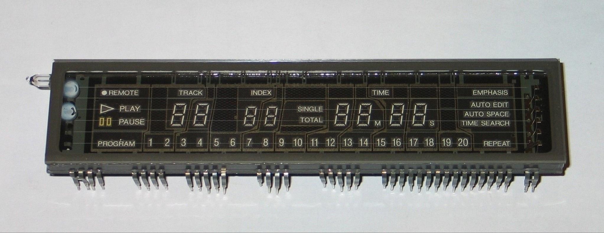 DENON DCD 3560 Wyświetlacz- display lampowy