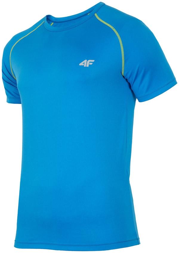 94d99b117913ad 4F T-shirt męski fitness TSMF001 -NIEBIESKI 3XL - 6732406829 ...
