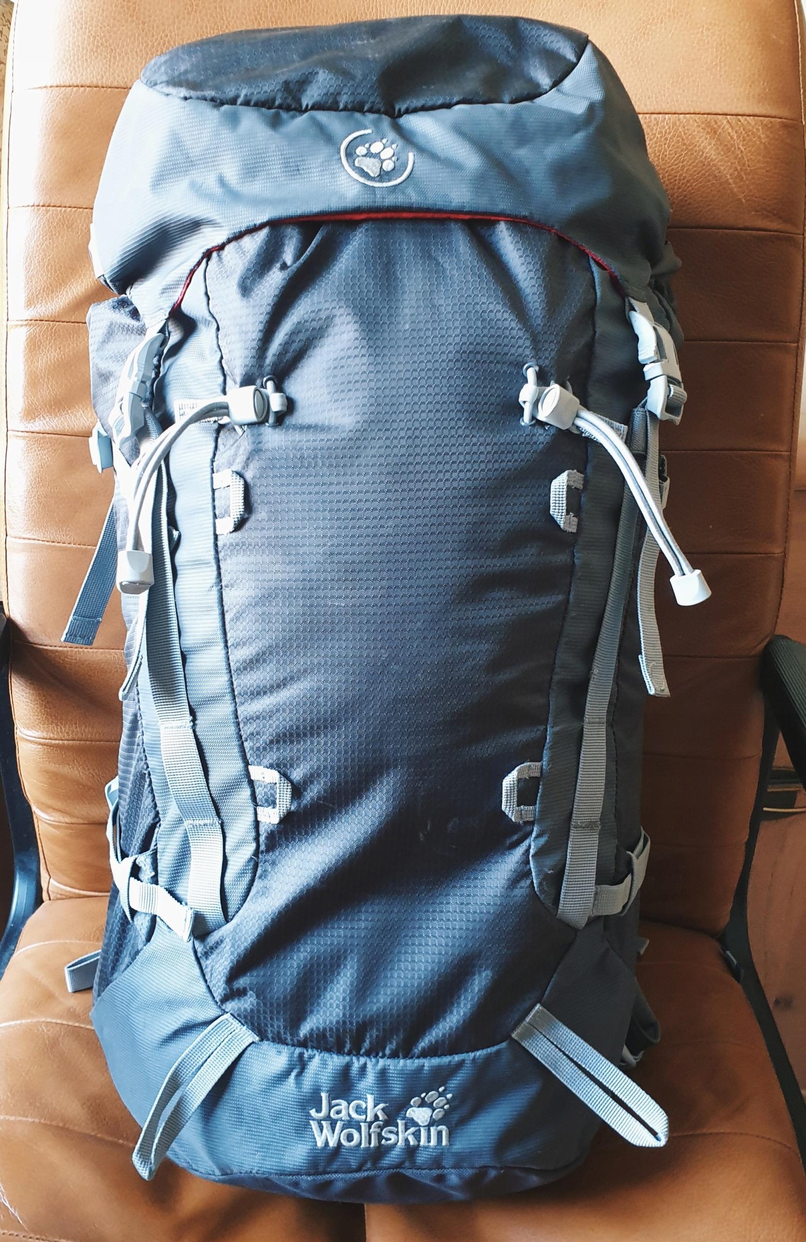 Plecak wspinaczkowy jack wolfskin mountaineer 32 L