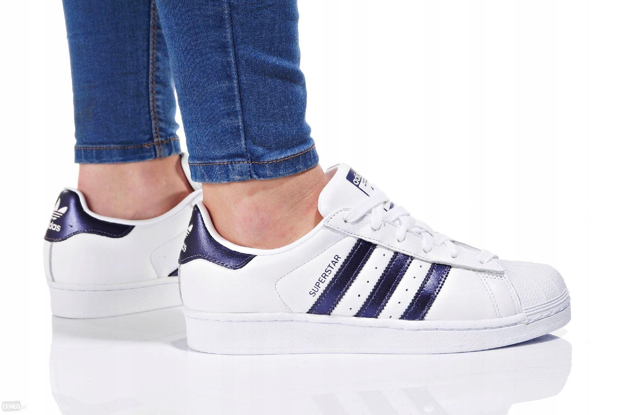Adidas Buty damskie Superstar białe r. 37 13 (CG5