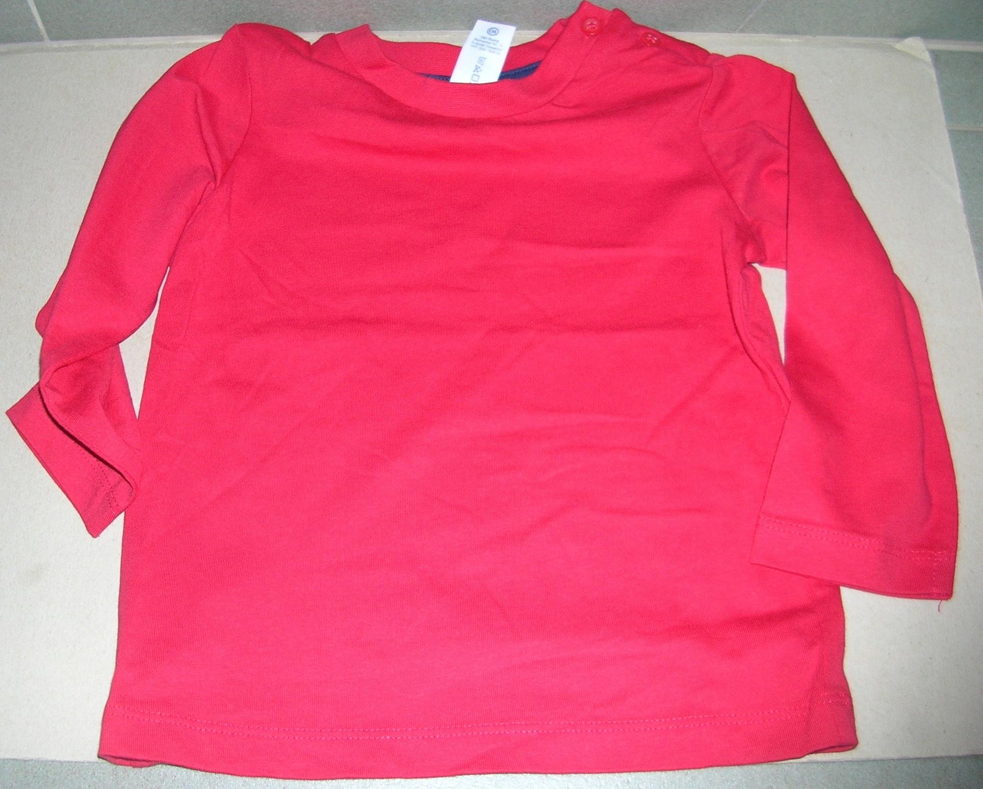 Koszulka na długi rękaw C&A roz. 86
