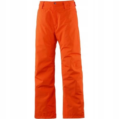 SALOMON Neonowe pomarańczowe narciarskie spodnie S