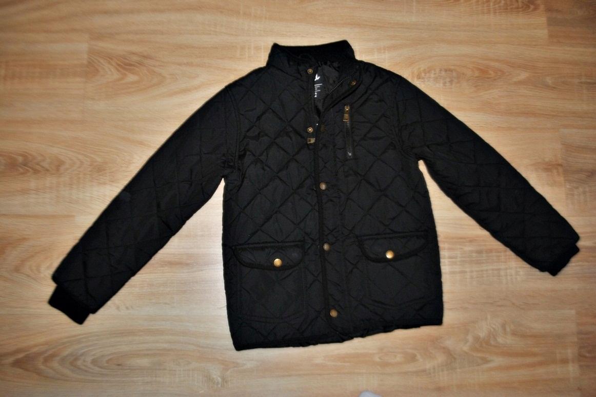 REBEL świetna kurtka PIKOWANA czarna 140