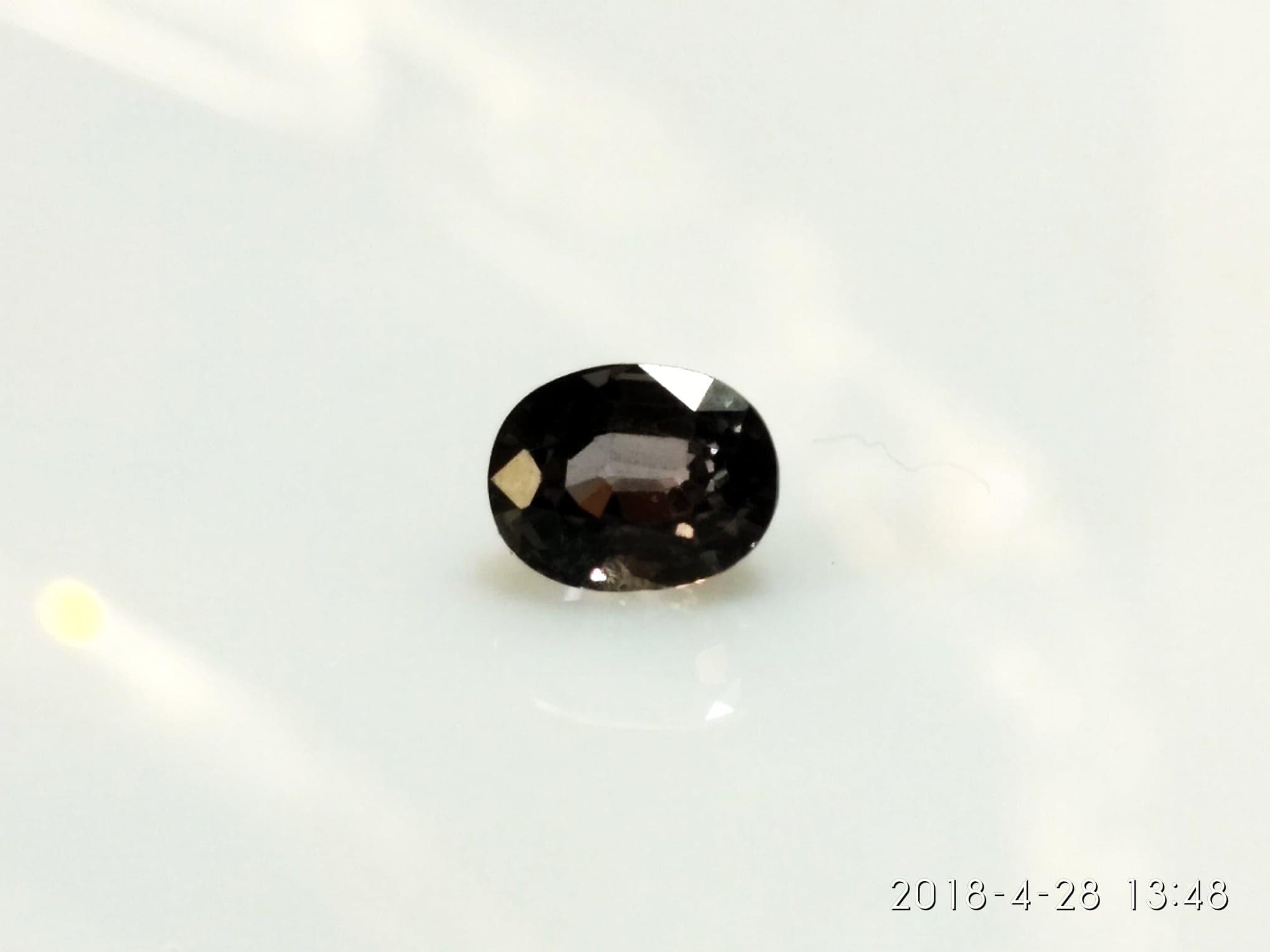 Spinel 1.01 Cts Natura Sprawdzony 6,13/4,81/4 mm