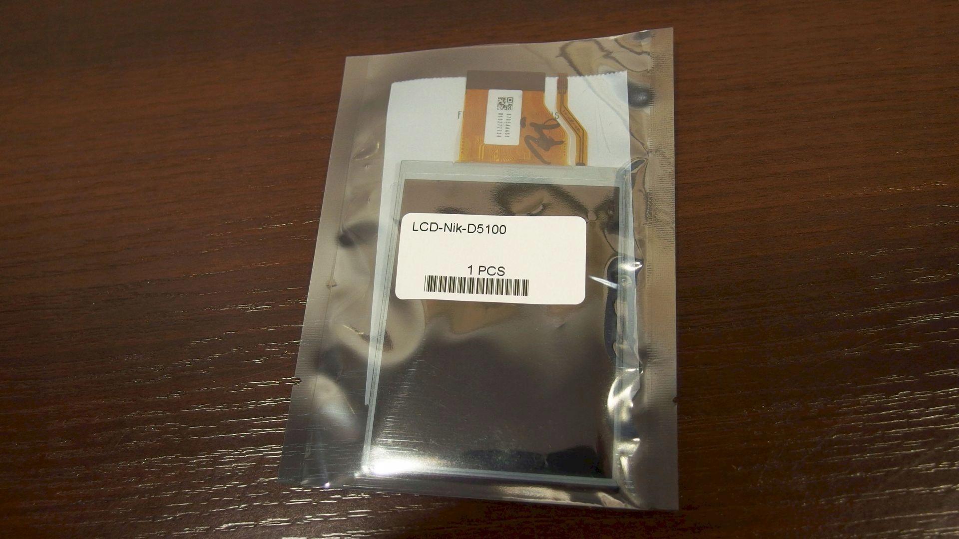 Wyświetlacz LCD Nikon D5100