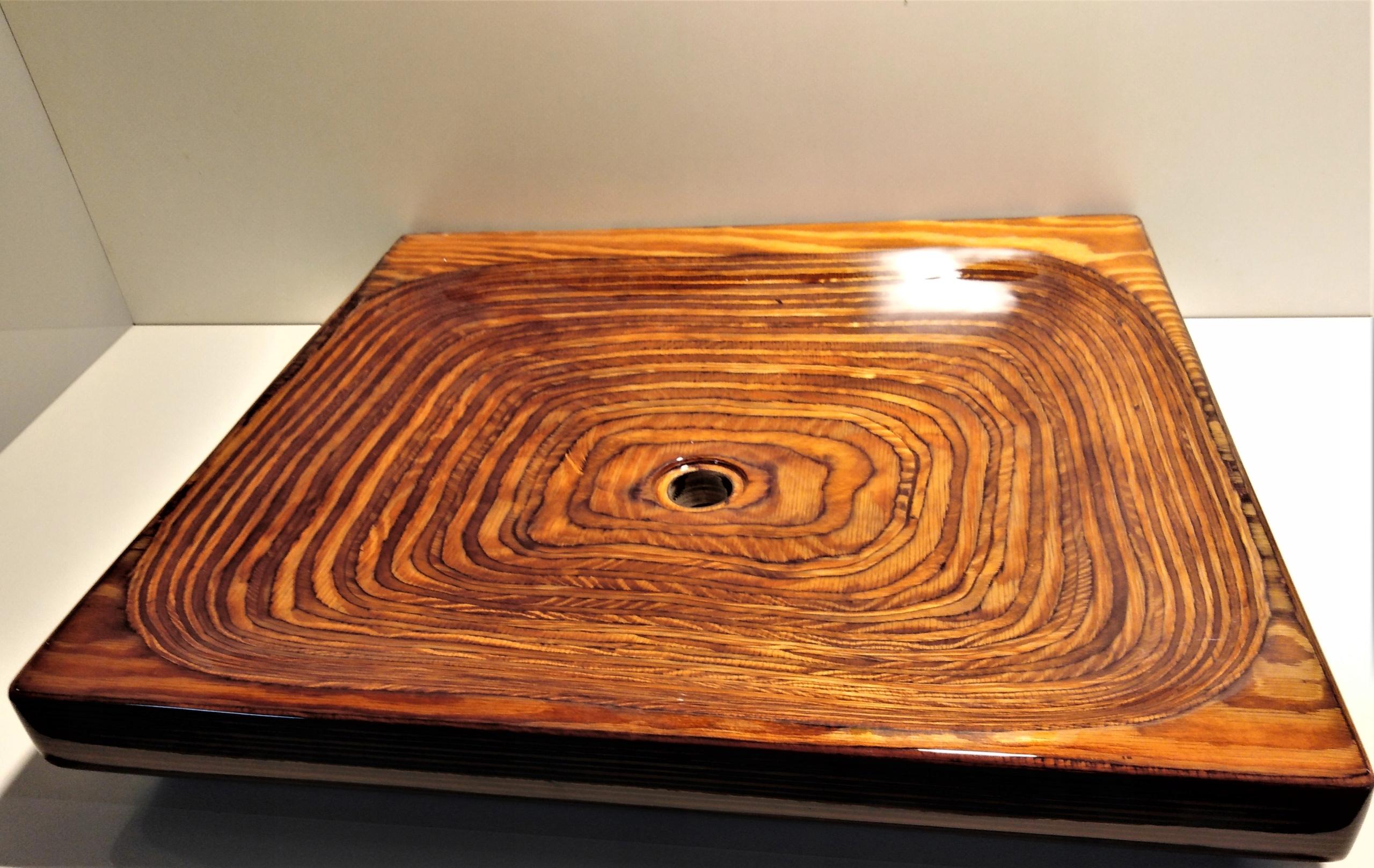 umywalka drewniana sklejka
