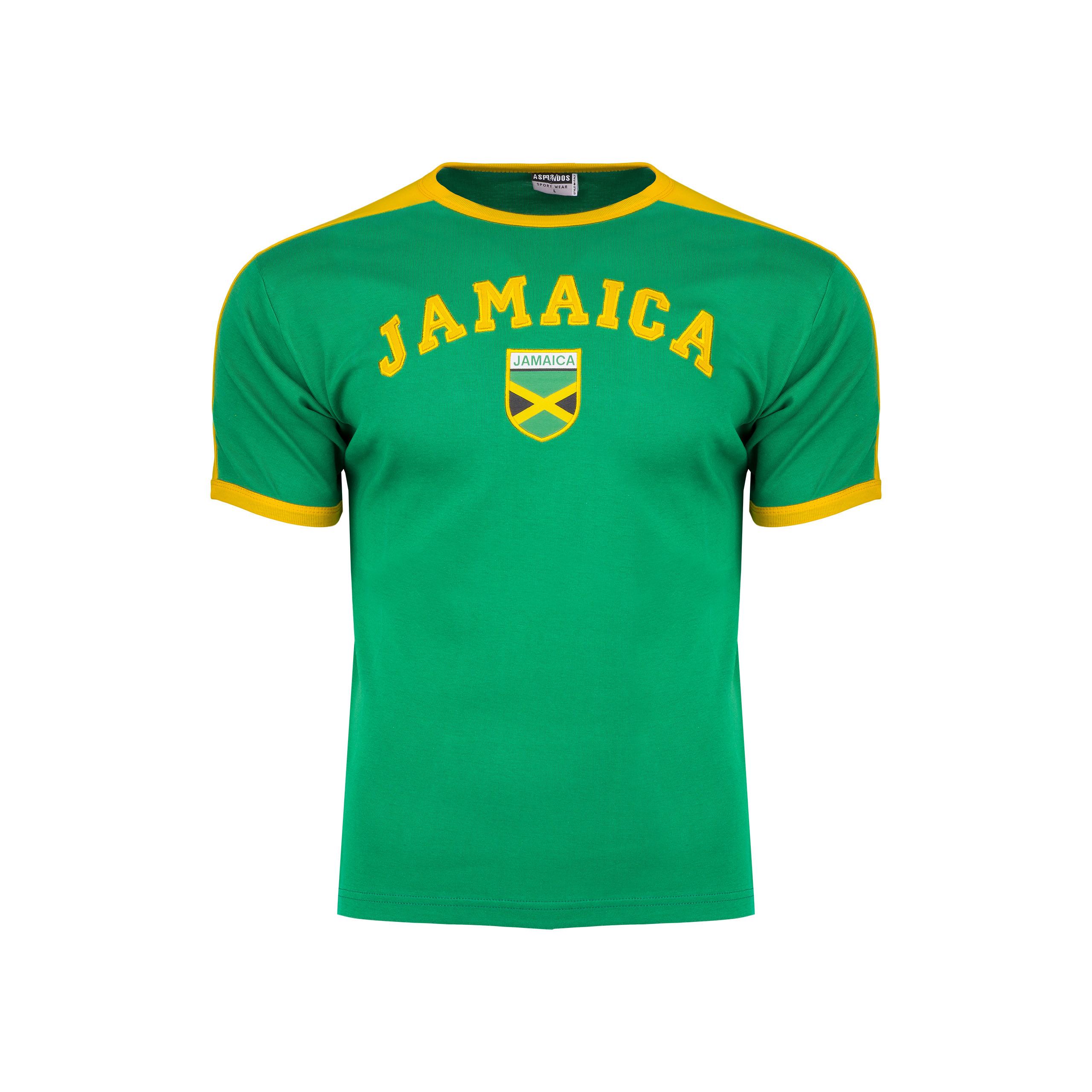 JAMAICA koszulka bawełniana RASTA MARLEY _____ M