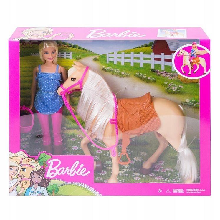 Lalka Barbie + koń podstawowy GXP-676315