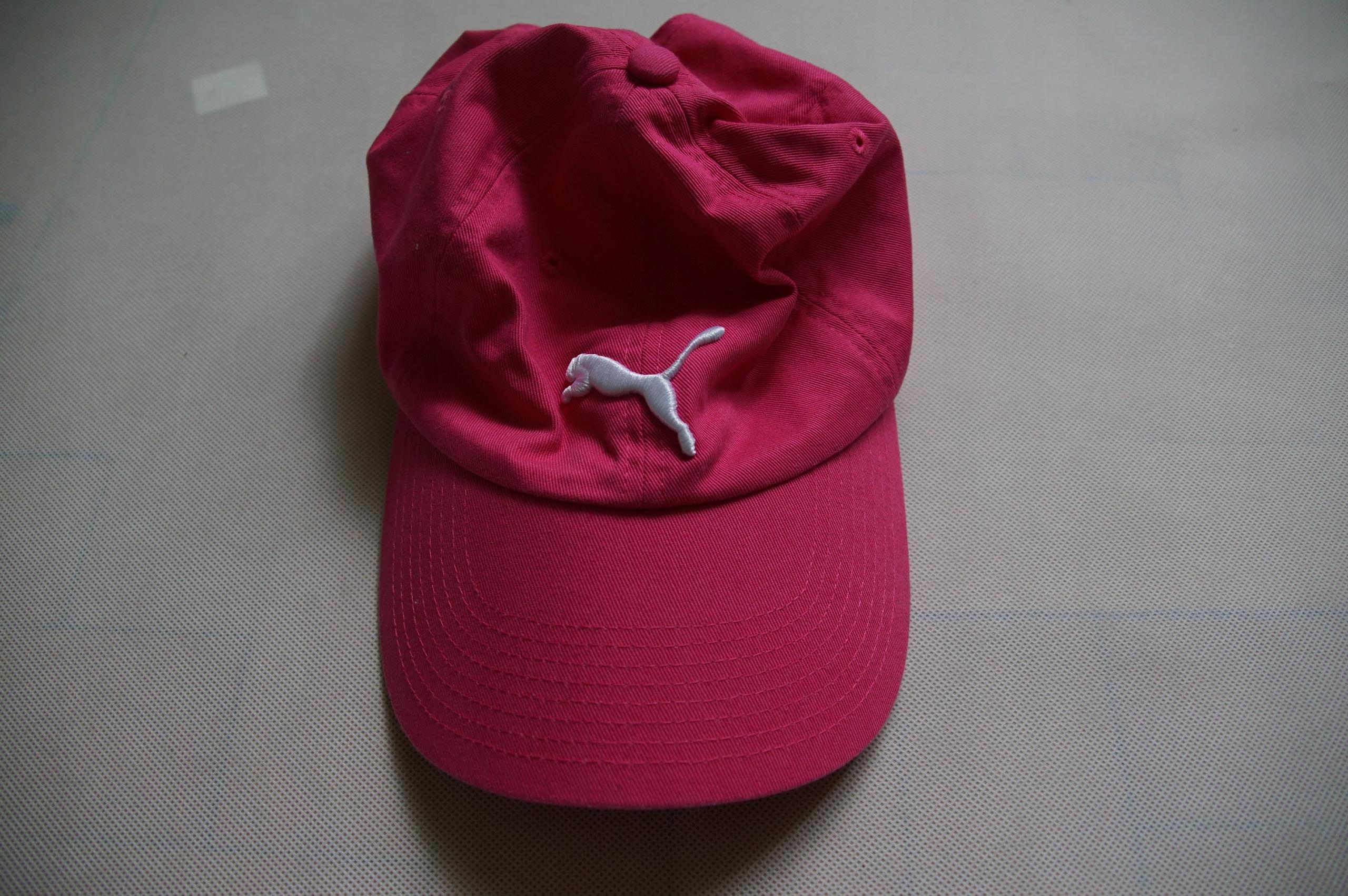 Puma czapka z daszkiem kolor różowa tania p