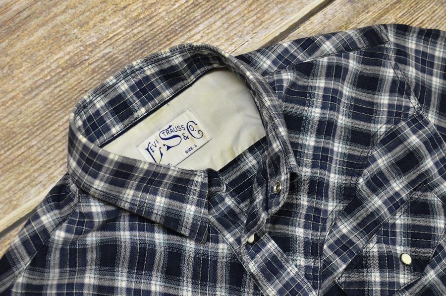 LEVI'S _ western shirt _ L