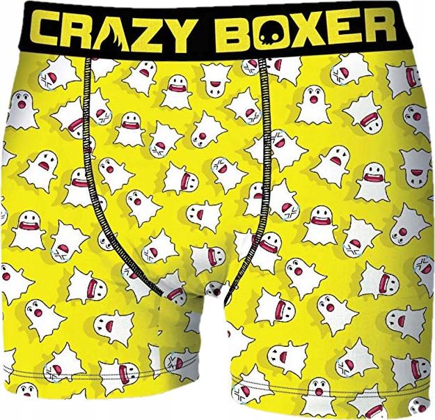B_M CrazyBoxer smieszne bokserki męskie snap r-XL