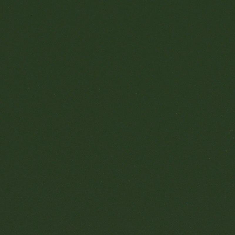 Folia odcinek matowa gładka ciemna zieleń1,52x0,1m